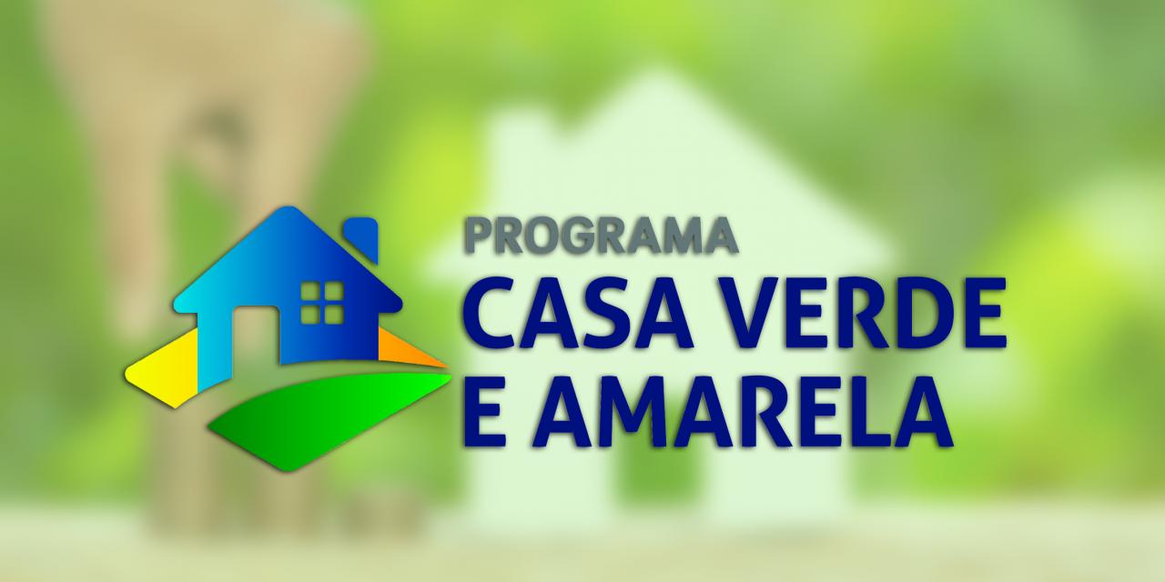 AS REGRAS DO NOVO PROGRAMA HABITACIONAL MINHA CASA VERDE E AMARELA